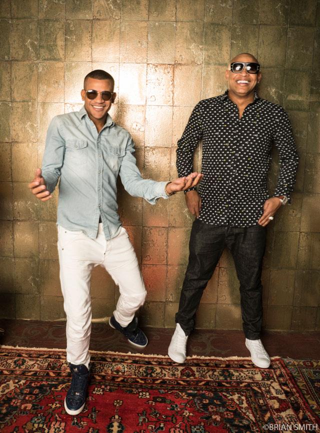 Randy Malcom and Alexander Delgado of Gente De Zona