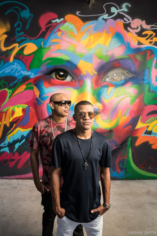 Randy Malcom and Alexander Delgado of Gente De Zona