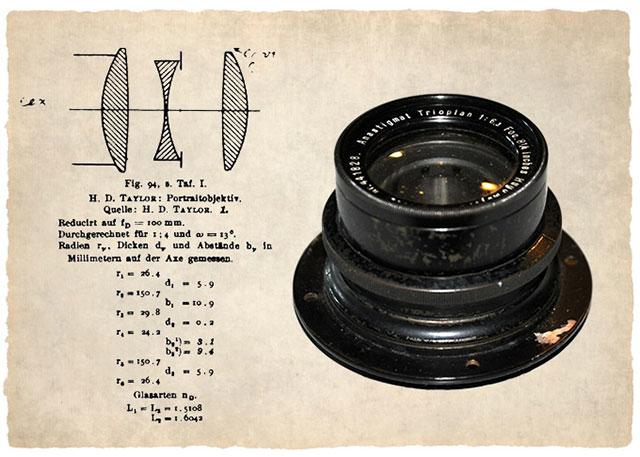 Cook-Triplet-lens-design