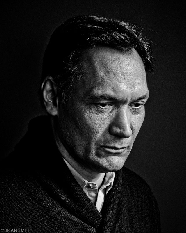 Jimmy Smits photographed at the Sundance Film Festival