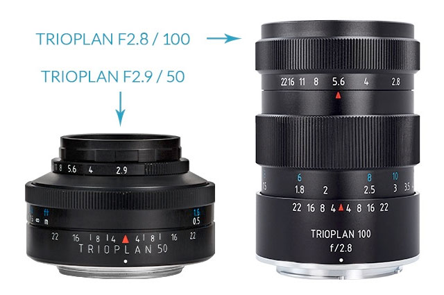 Meyer-Optik-Trioplan-50-100-lenses