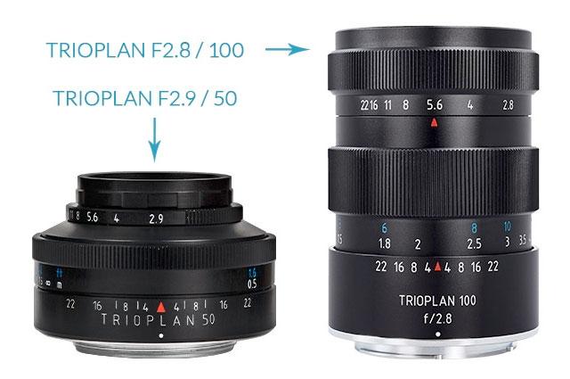 Meyer-Optik-Trioplan-50-100-lenses