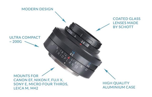 Meyer-Optik-Trioplan-50