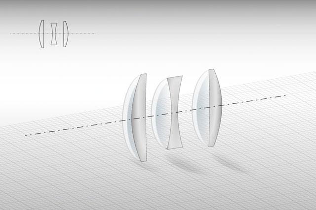 Meyer-Optik-Triplet-Lens-Elements