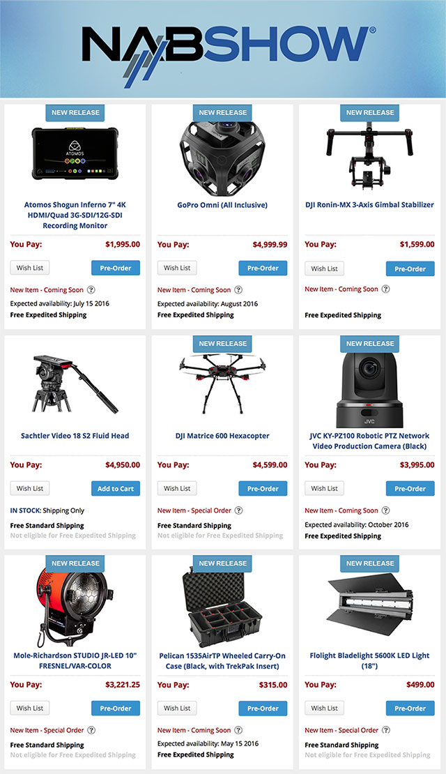 NAB-Show-2016-Top-Products