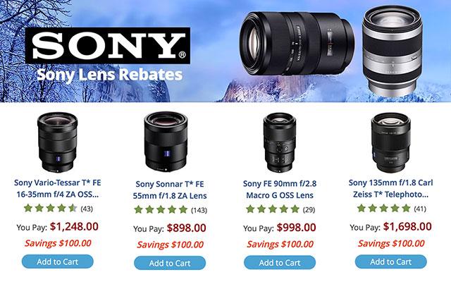 Sony-Lens-Rebates-April-2016