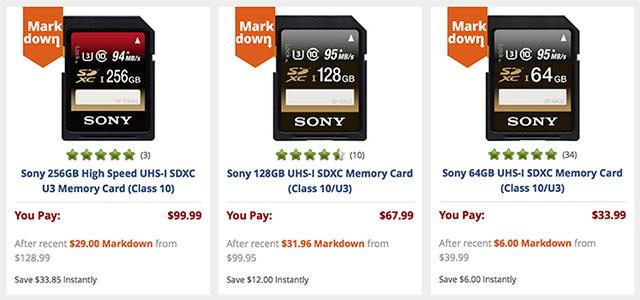 Sony-SDXC-Card-Markdown
