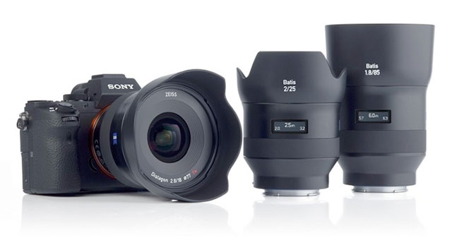 Zeiss-Batis-E-Mount-Lenses