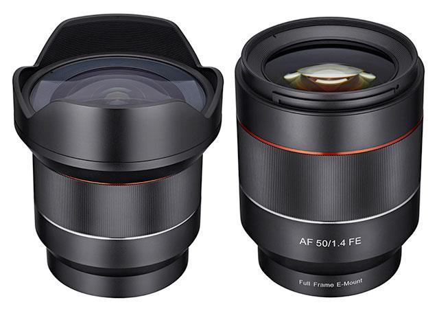 Samyang-FE-14mm-F2-8-50mm-F1-4-AF-lens