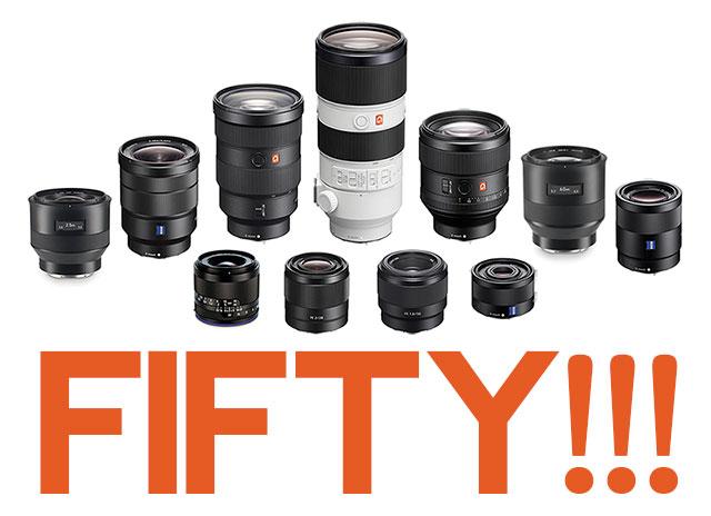 Sony-FE-Lenses-50