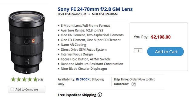 Sony-FE-24-70-GM-In-Stock