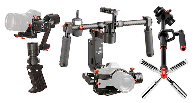 Mirrorless-Gimbal-Stabilizers