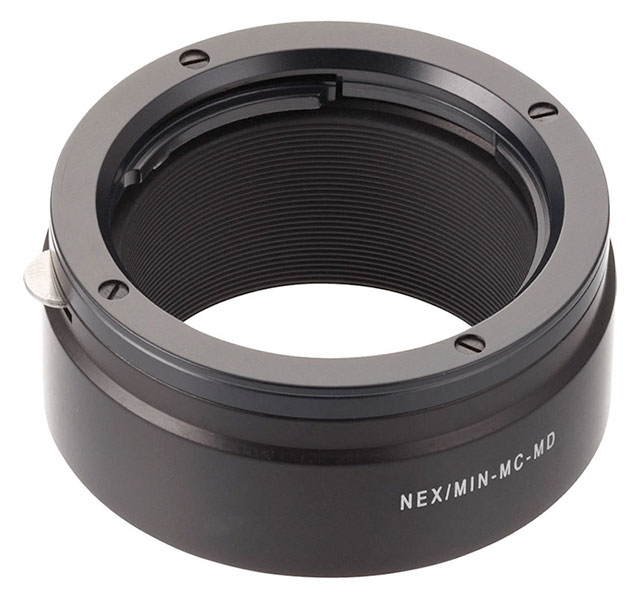 Novoflex-Minolta-MD-MC-Sony-E-Adapter