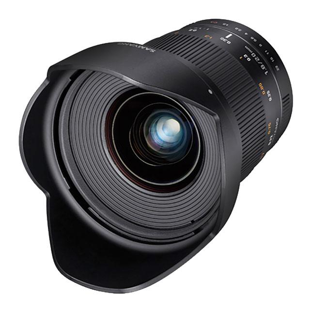 Rokinon-20mm-F1-8-lens