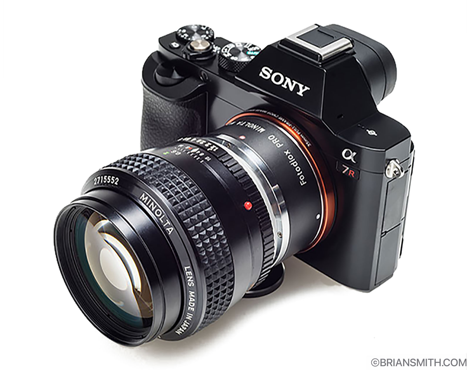Minolta MD Lens Mount Adapters for Sony E-Mount Cameras