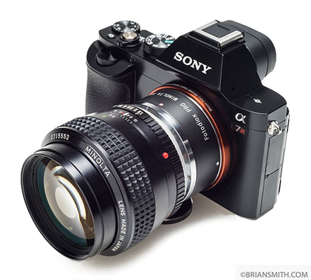 Guide to Minolta MD Lens Mount Adapters for Sony E-Mount Cameras