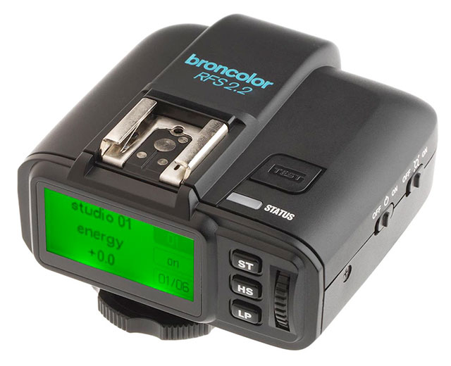 Broncolor-Remote-Control-RFS-2-2-S-Transmitter