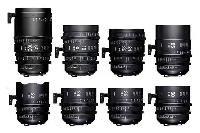 Sigma-Cine-E-Mount-Lenses