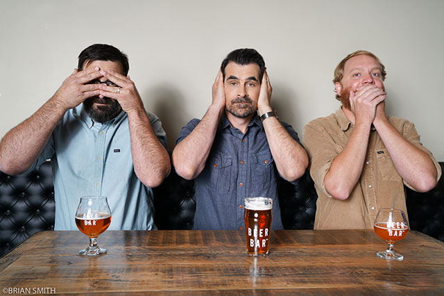 Actor Ty Burrell photographed at Beer Bar in Salt Lake City, Utah