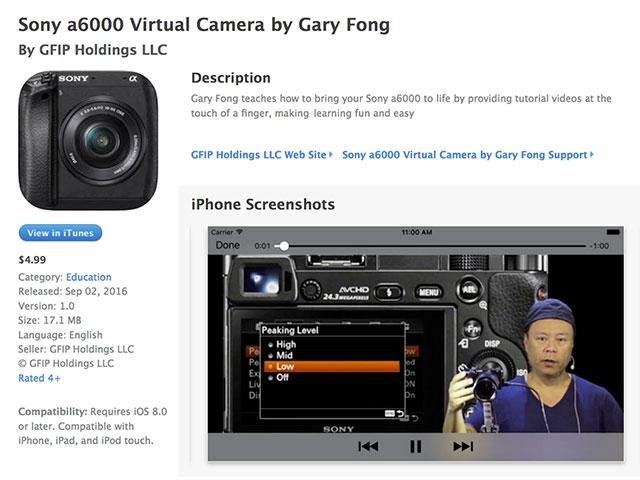 Gary-Fong-Sony-a6000-Virtual-Camera