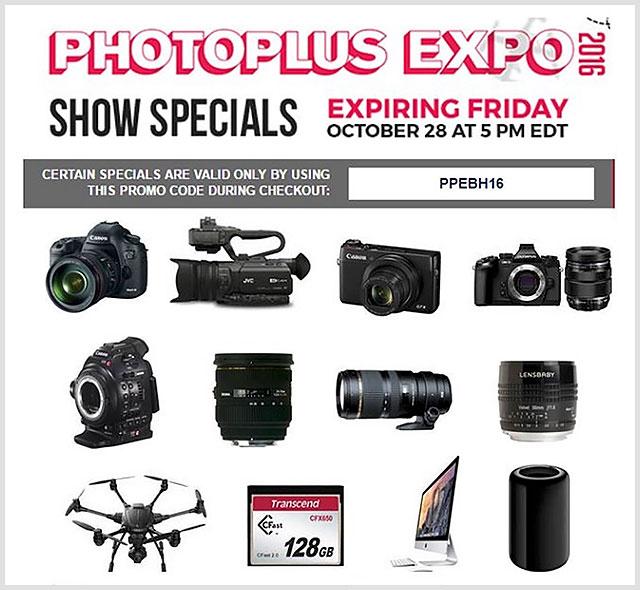 PhotoPlusExpo-2016-BHPhoto-Deals