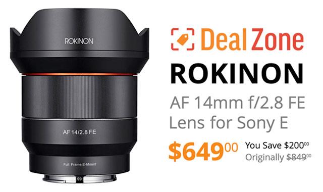 Rokinon-14mm-FE-Lens-Deal