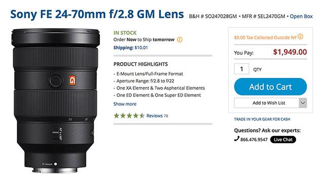 Sony-FE-24-70-F2-8-GM--Open-Box