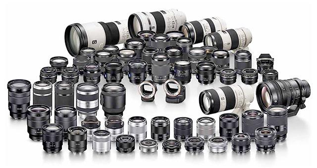 Sony-Lenses