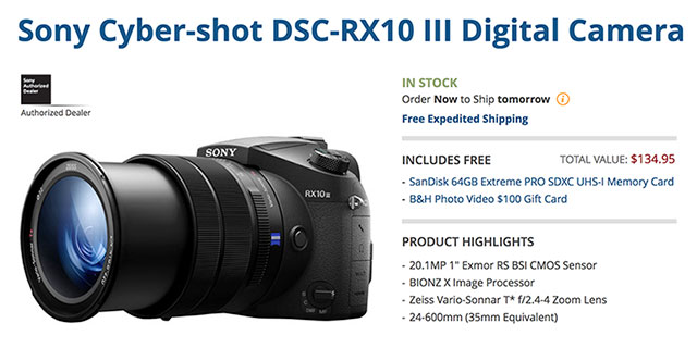 Sony-RX10-III-Deal - Portrait Photographers Miami l Celebrity