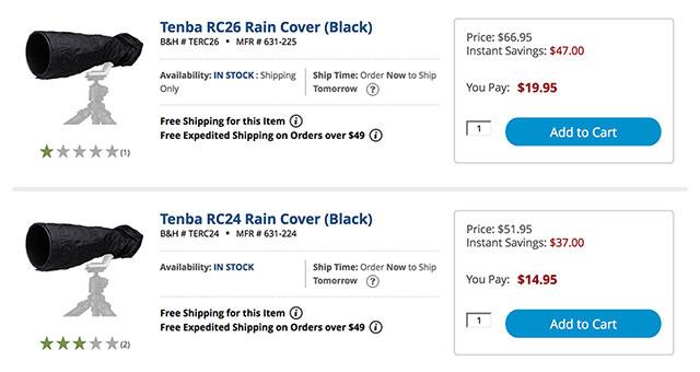 Tenba-Rain-Covers