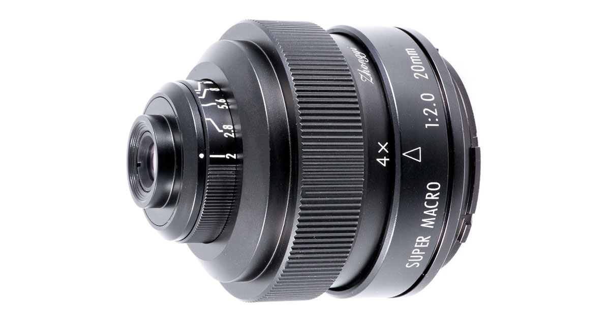 ZY Optics Announces Mitakon Zhongyi 20mm f/2 4.5X Super