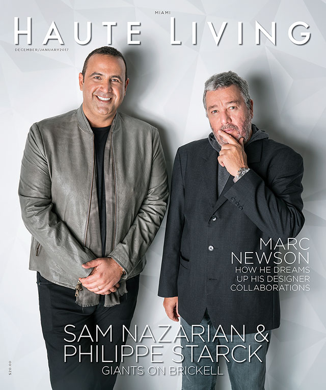 philippe-starck-sam-nazarian-haute-living-cover