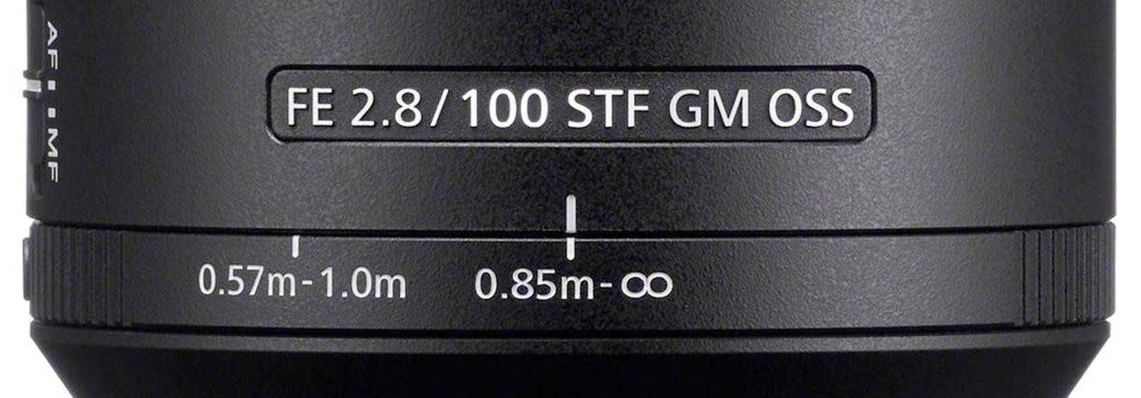Sony FE 100mm STF GM Close Focus