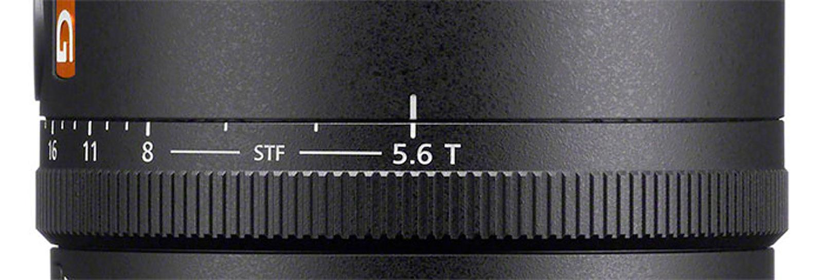 Sony FE 100mm F2.8 STF GM OSS T-Stops