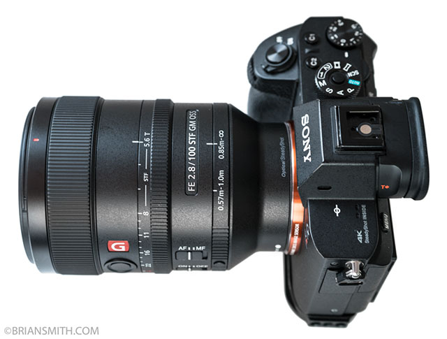 Sony 100mm F2.8 G Master