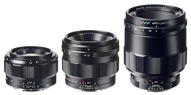 Sony E Mount Full Frame Lenses >> Voigtlander Announces Three New E Mount Lenses