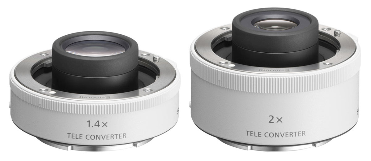 Sony FE 1.4x & 2x Teleconverters