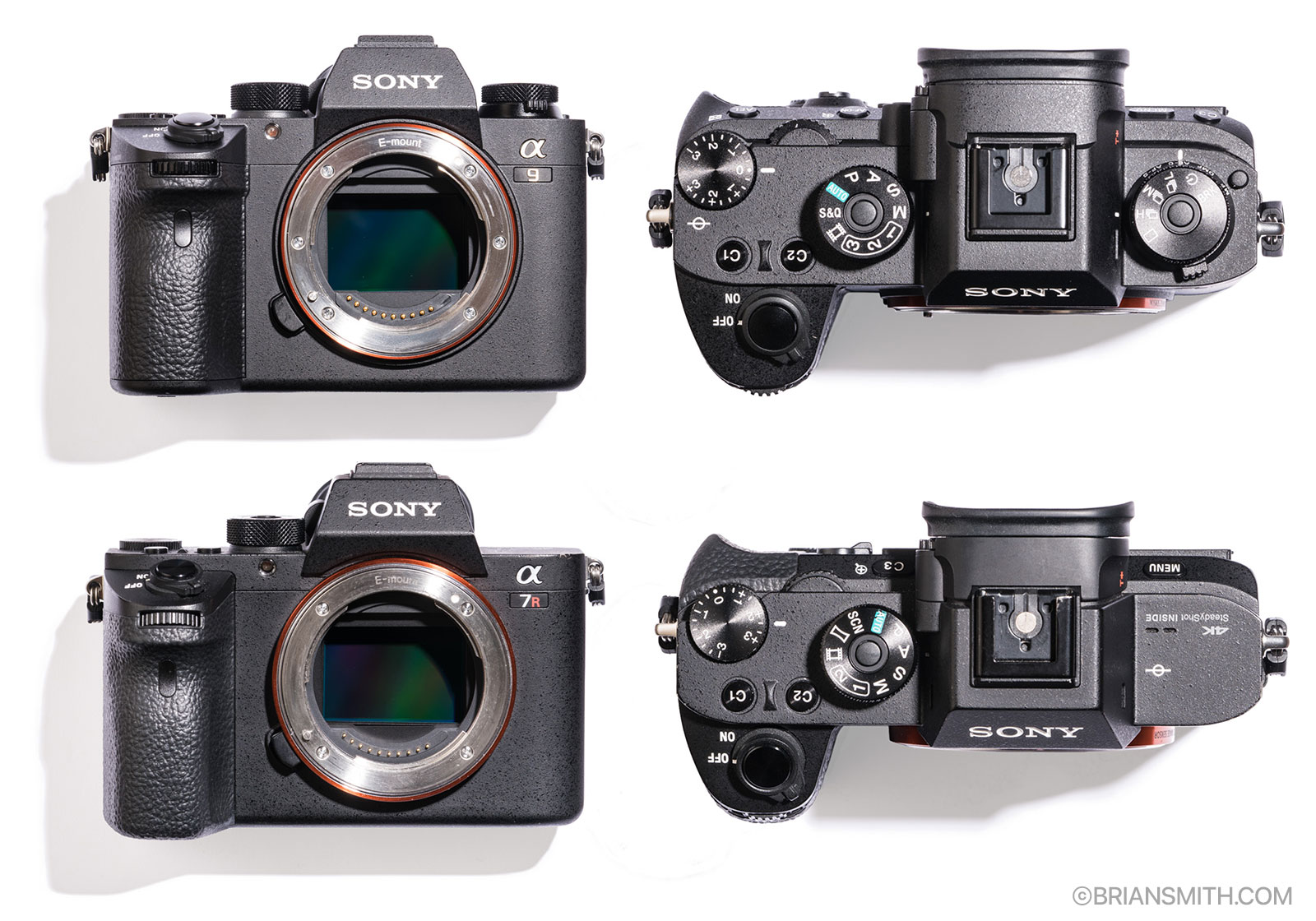 Sony a9 a7RII size comparison.jpg