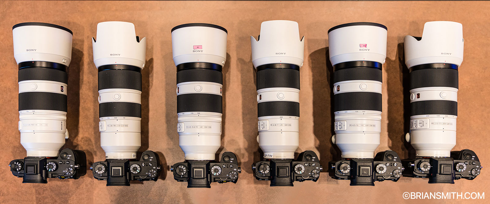 The first six Sony a9 cameras in the world