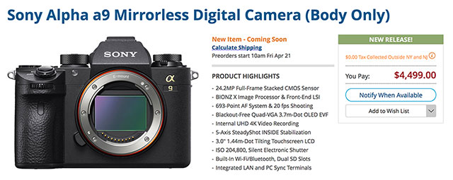 sony-a9-pre-orders