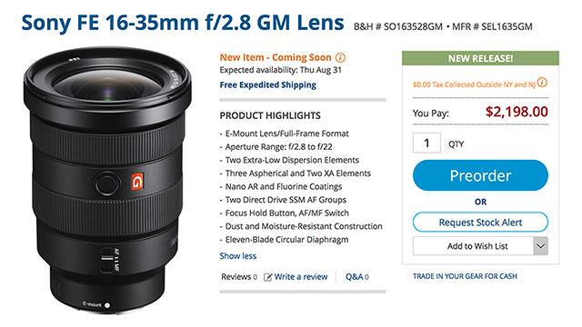 sony-fe-16-35-f2-8-gm-lens-order