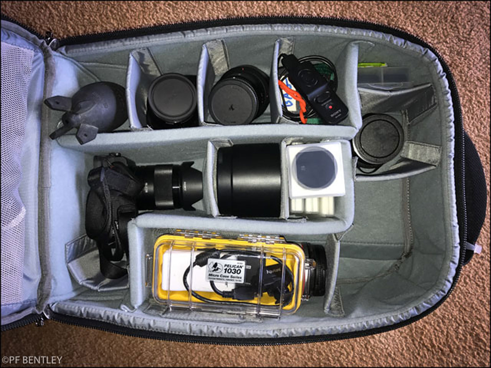 PF Bentley's Camera Bag