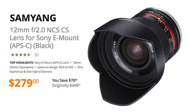 samyang-12mm-e-mount-lens-deal