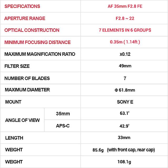 samyang-af-35mm-f2-8-fe-specs