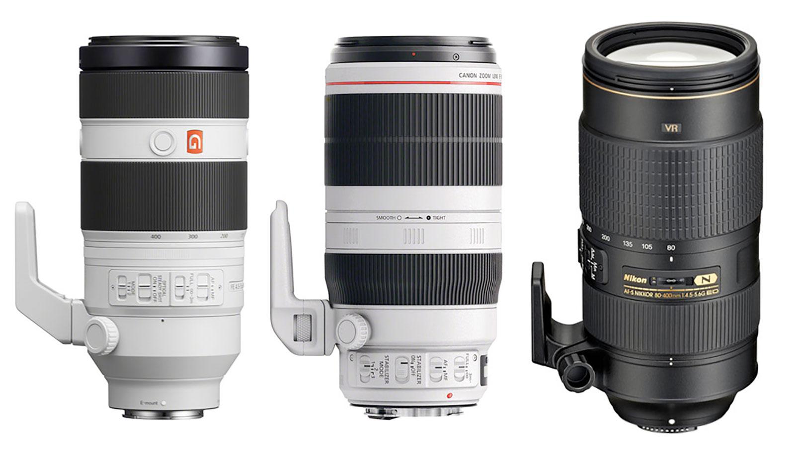 100-400mm F4.5-5.6 Zoom Lenses
