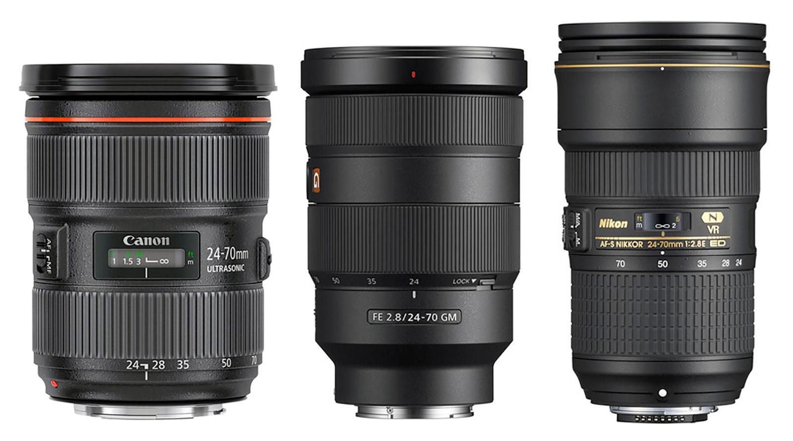 24-70mm F2.8 Zoom Lenses