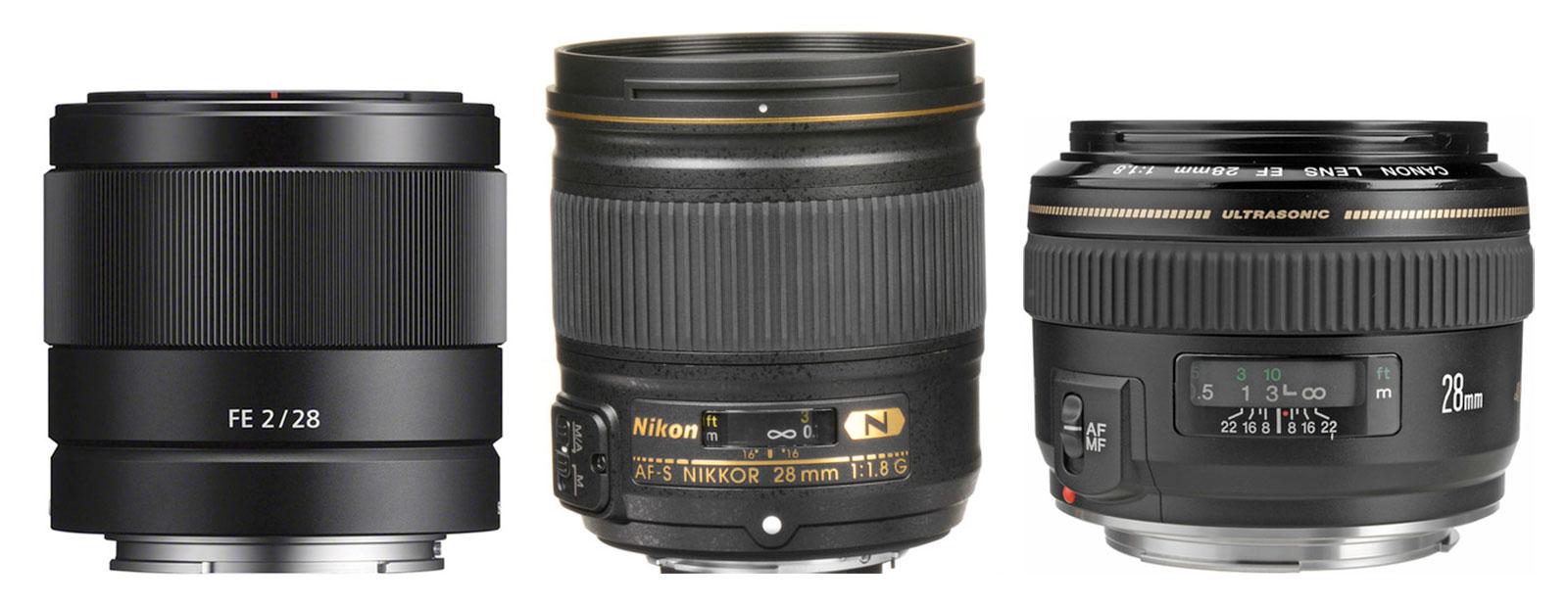 28mm Lenses