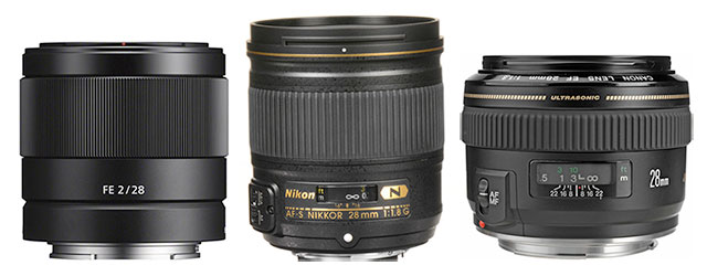 28mm-lenses