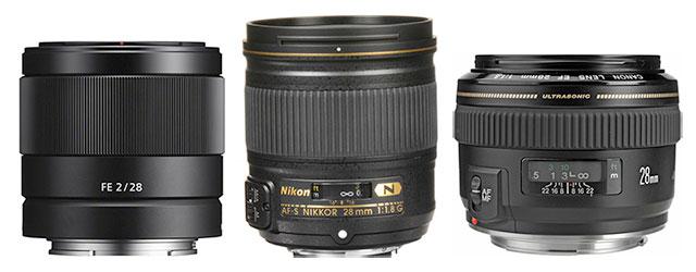 28mm-lenses