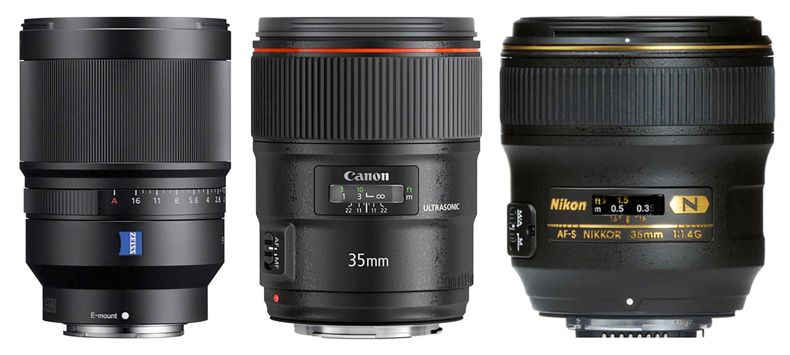 35mm F1.4 Lenses